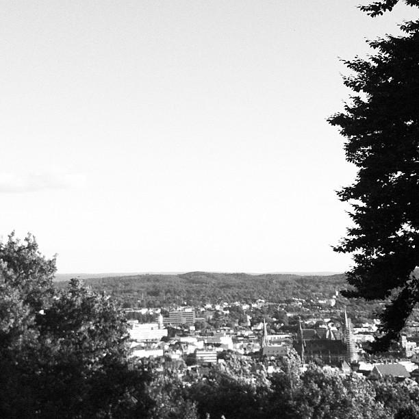#Aachen: Blick auf #Rathaus und #Dom vom #Lousberg (Instagram)