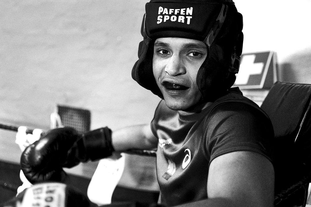 Portrait im Boxring