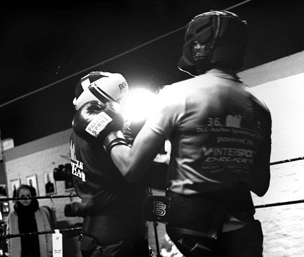 Boxtraining beim MLK Team Aachen