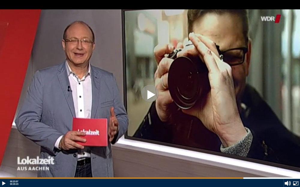 WDR Lokalzeit Aachen über mein Fotoblog